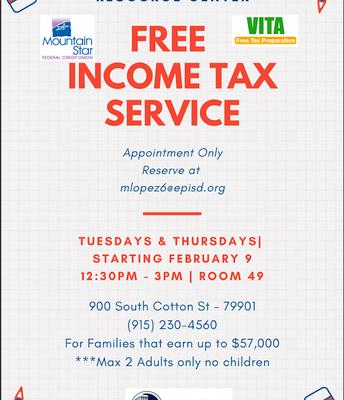 VITA Free Income Taxes