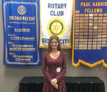Rotary Student Of The Month - March