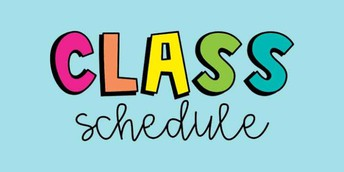 Student Learning Schedules