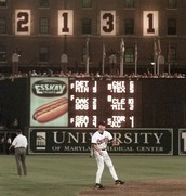 Cal Ripken's 2131 consecutive games played