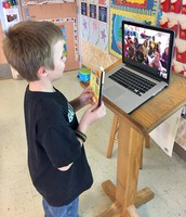 Read Across America via Google Hangout