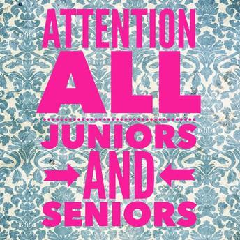 Granville Academy Juniors & Seniors!