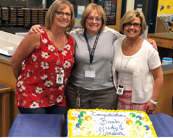 WE WILL MISS YOU! Mrs. Trigger, Mrs. Sevek and Mrs. Lupu