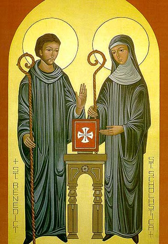 Saint Benedict and Scholastica: Feast Day – July11, February 20