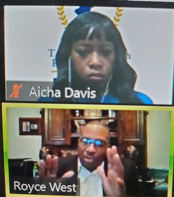 Senator Royce West & SBOE Member Aicha Davis