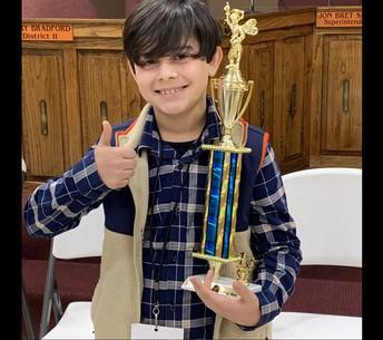 County Spelling Bee Winner