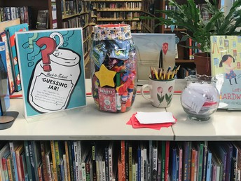 ...held a Back-to-School Guessing Jar Contest!