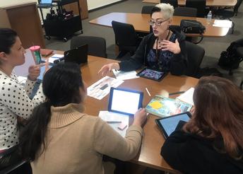 Induction mentors problem-solve questioning