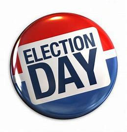 Tuesday, November 3 (Election Day)