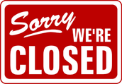 Go center closed until September 5