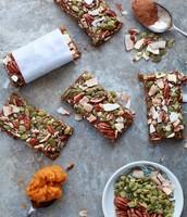 Vegan Pumpkin Pie Protein Bars
