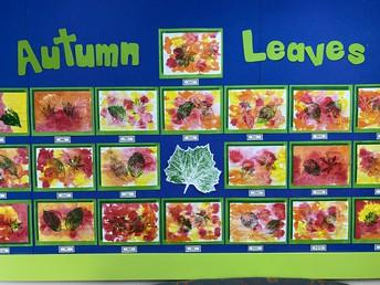 Autumn leaves - amazing artwork (Rm 2)