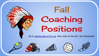 One Fall Coaching Position Posted