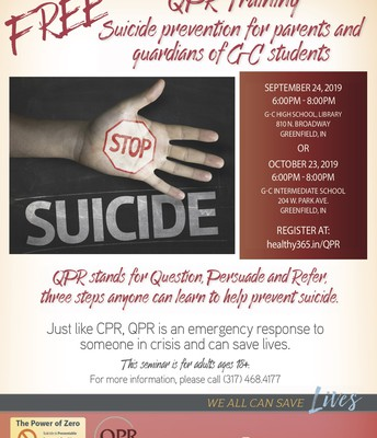 QPR suicide prevention trainings