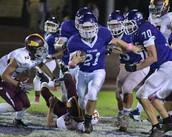 Varsity Football Aimed at NCS Playoffs