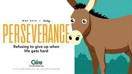 Character Trait of the Month:  PERSEVERANCE
