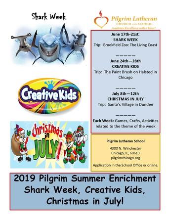 Pilgrim Summer Enrichment Program