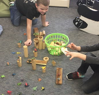 Students created  a jungle!