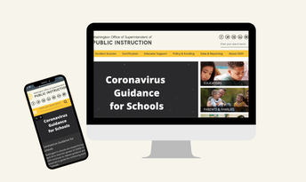 OSPI COVID guidance for schools, parents, seniors.