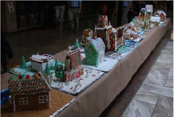 Home Economics Classes Construct Artful Gingerbread Houses