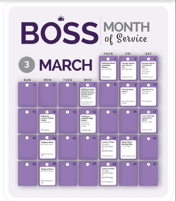 B.O.S.S : Month of Service