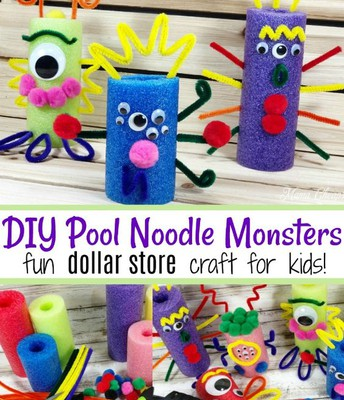 Pool Noodle Monsters