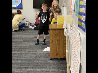 4th Grade Chain Reaction Demonstrations
