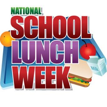 National School Lunch Week..10/14-10/18