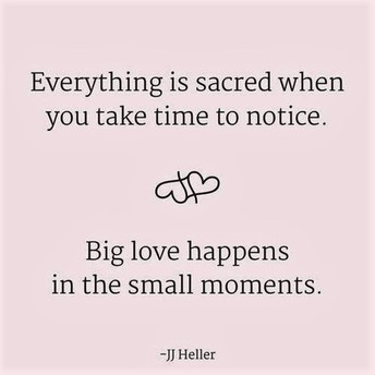 So Many Little Moments...Such Big Love!