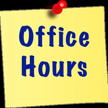 DDE Summer Office Hours