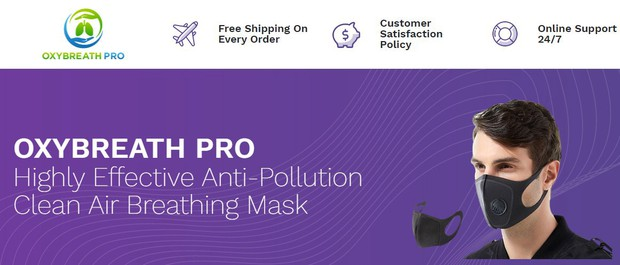 1 OxyBreath Pro – One OxyBreath Pro mask retails for $98, but because of the 50% discount, the price down to $49. For single individuals.