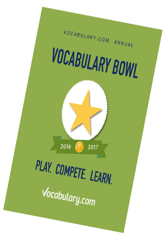Vocabulary Bowl Update