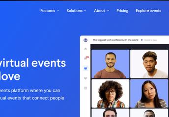 Hopin Virtual Platform Site