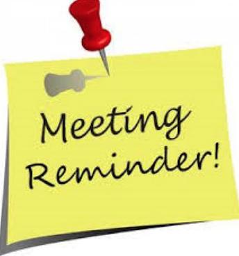 Next FFO Meeting-Tuesday, November 27th @ 8:30am