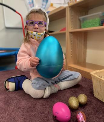 a giant egg!