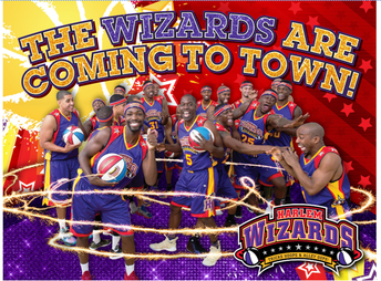 The Harlem Wizards Are Playing at LMHS on October 3