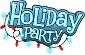 Class Christmas Parties will be held on Wednesday, December 20th at 1:30