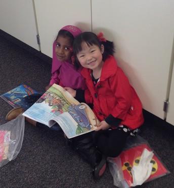 Buddy Time in Kindergarten