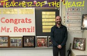 Wedgwood's 2016-2017 Teacher Of The Year: Mr. Domenick Renzi