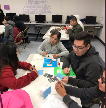 Students identify critical points for a quadratic equation