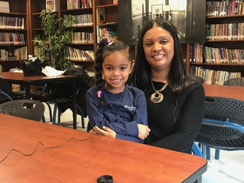Thank you to Zaiya, from K1B, and her mom for sharing their experience at Lower Mills as a new family!