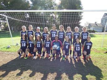 2018 Girls MS Soccer