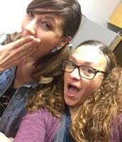 Ms. Diamond & Mrs. Hanvey Having Crazy Hair Fun!