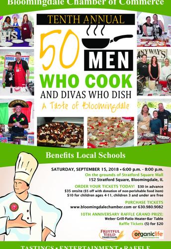 50 Men Who Cook & Diva