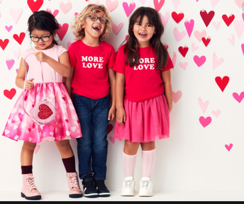 Valentine's Day Colours Spirit Day