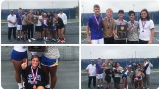 Tennis - District Champs!
