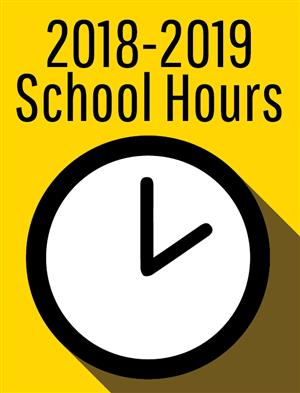 2018-19 School Hours