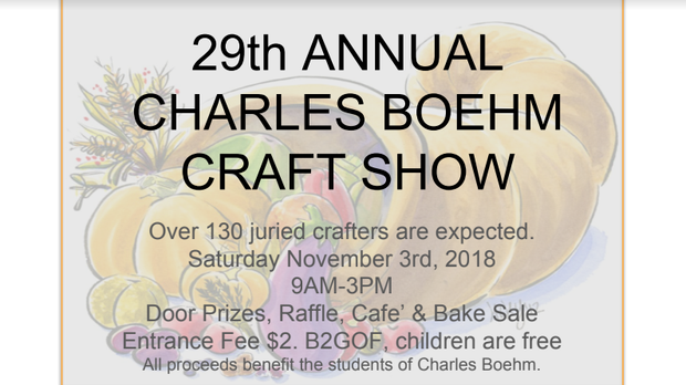 Charles Boehm Middle School Craft Show