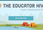 Click on the Educator Hive