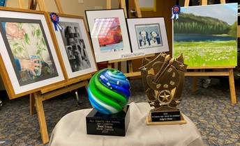 North Students Win Art Show Awards